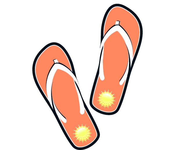 Flip flop clipart 3