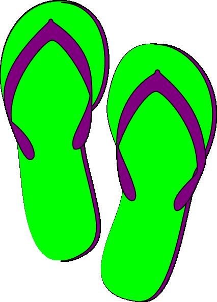 Flip flop clipart 4