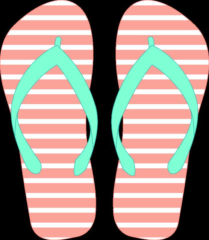 Flip flop clipart 5