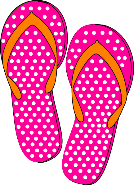 Flip flop clipart 6