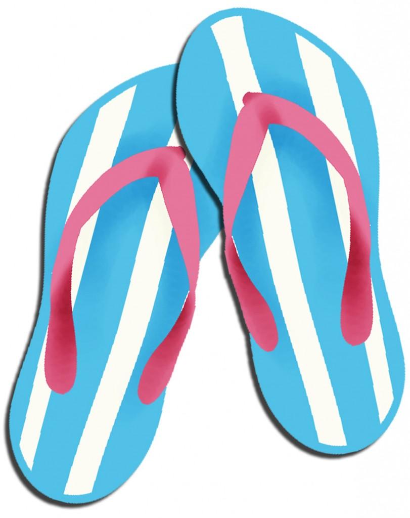 Flip flop clipart free