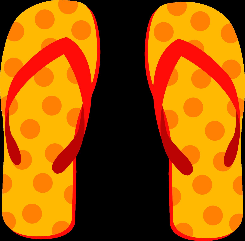 Flip flops clip art at clker vector