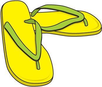 Flip flops clip art clothes clipart flip flops