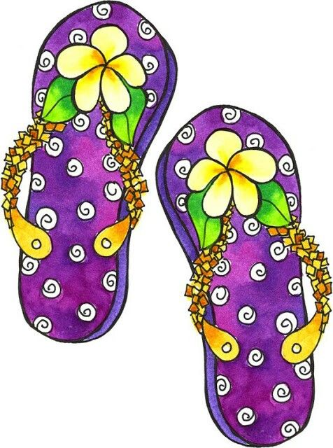 Flip flops clipart black and white free 3 2