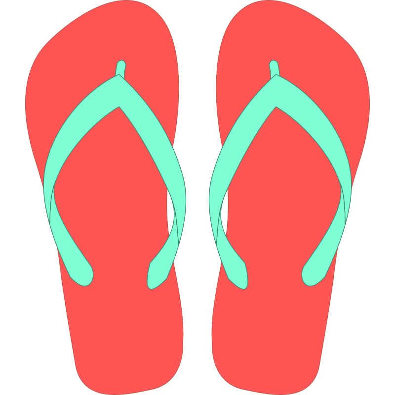 Flip flops images free download clip art on
