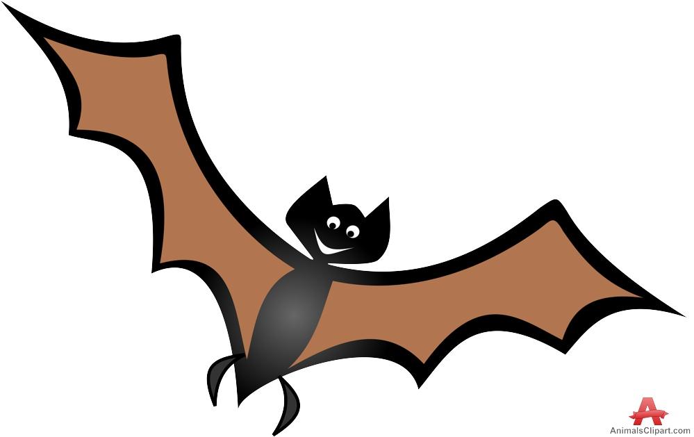Flying bat clipart free design download