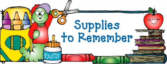 Free clipart school supplies clipart free download
