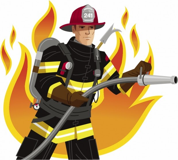 Free firefighter clipart pictures 2