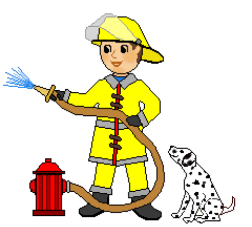 Free firefighter clipart pictures 3