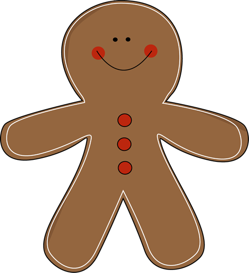 Free gingerbread man clipart pictures 3