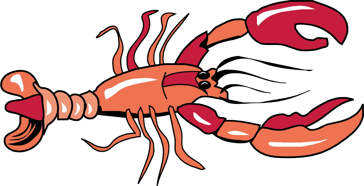 Free lobster clipart clip art image 4 of