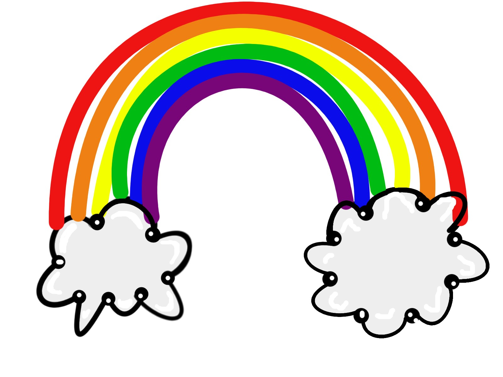 Free rainbow clip art pictures 3