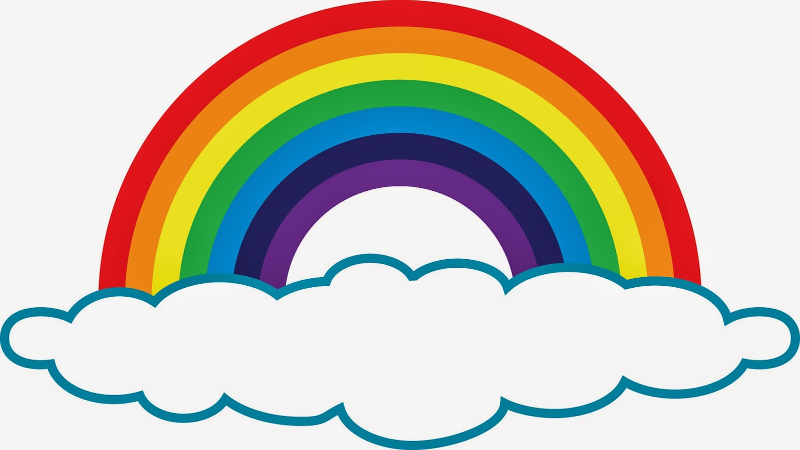 Free rainbow clip art pictures