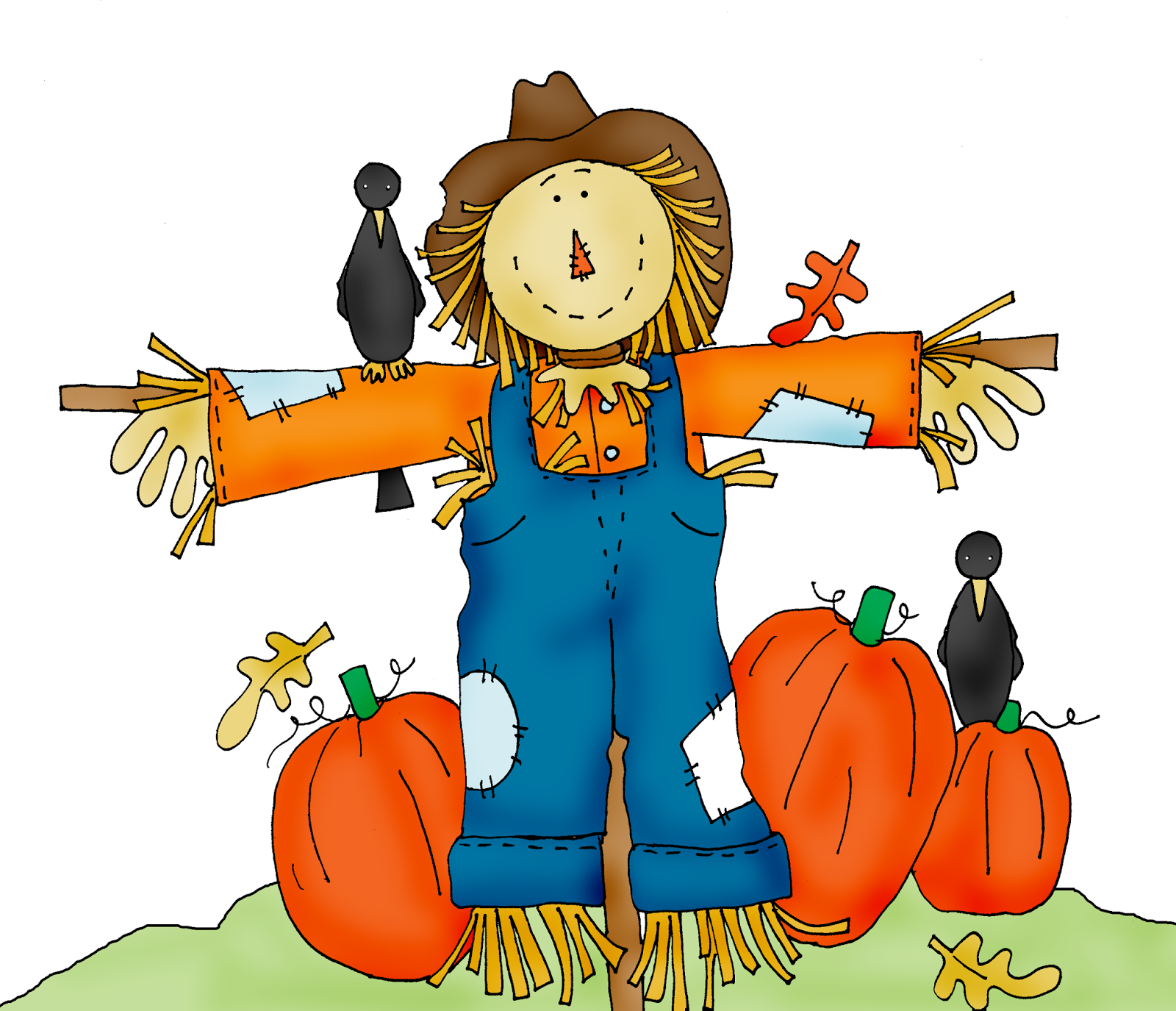 Free scarecrow clipart pictures 4
