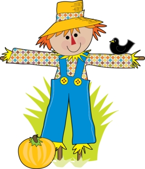 Free scarecrow clipart pictures