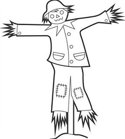 Free scarecrow clipart