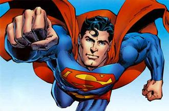 Free superman cartoon clipart 2