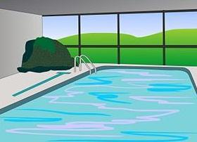 Free swimming pool clipart