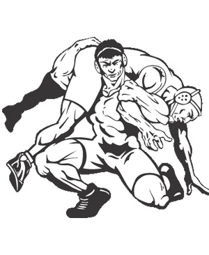 Free wrestling clip art pictures 3
