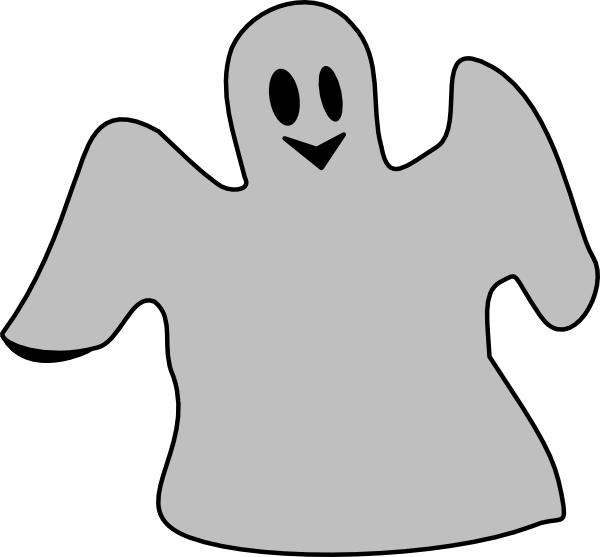 Friendly ghost clipart free images