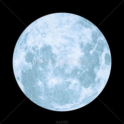 Full halloween moon clipart