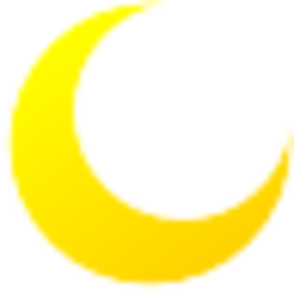 Full moon transparent clipart 3