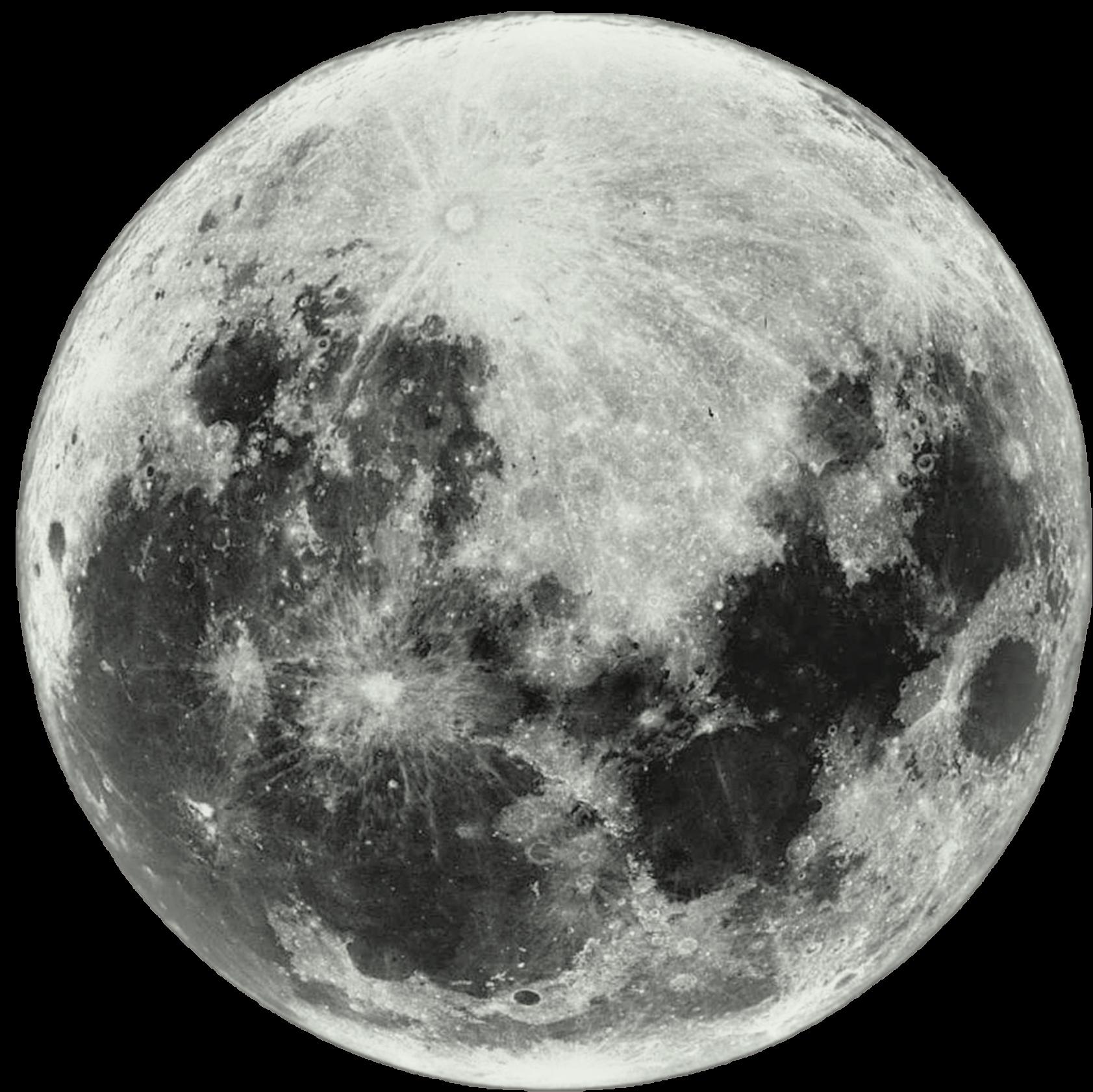 Full moon transparent clipart 4