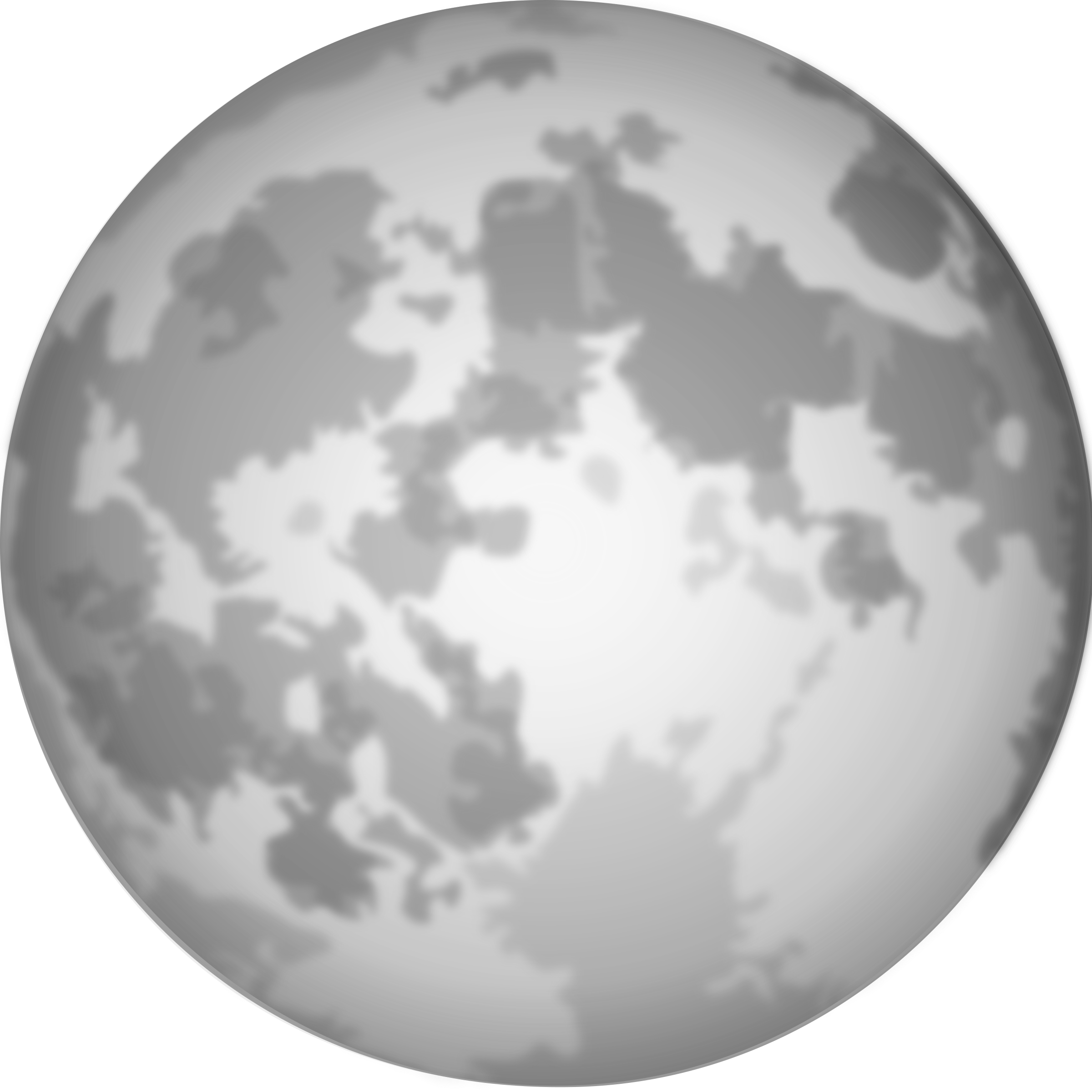 Full moon transparent clipart