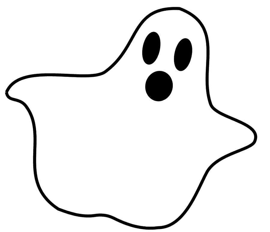Ghost clipart 3