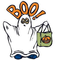 Ghost clipart and vector graphics for halloween 2