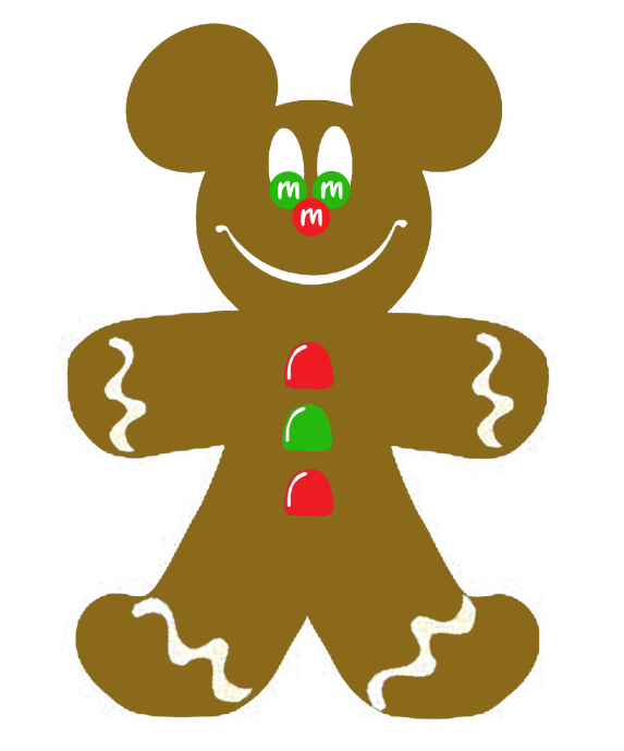 Gingerbread man clip art free clipart images 3