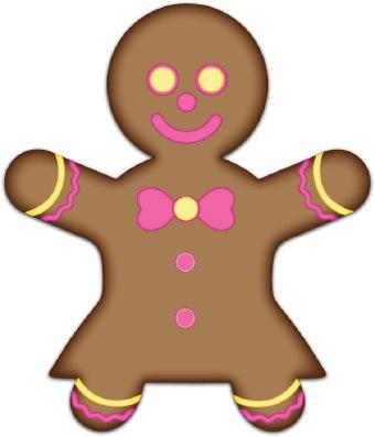 Gingerbread man clipart free download clip art