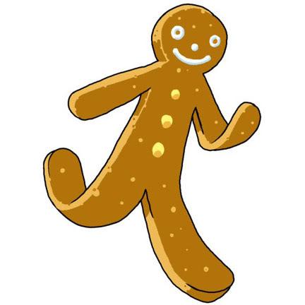 Gingerbread man gingerbread men clipart web