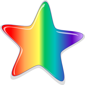 Half rainbow clipart free images