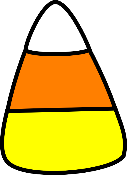 Halloween candy corn clipart free images