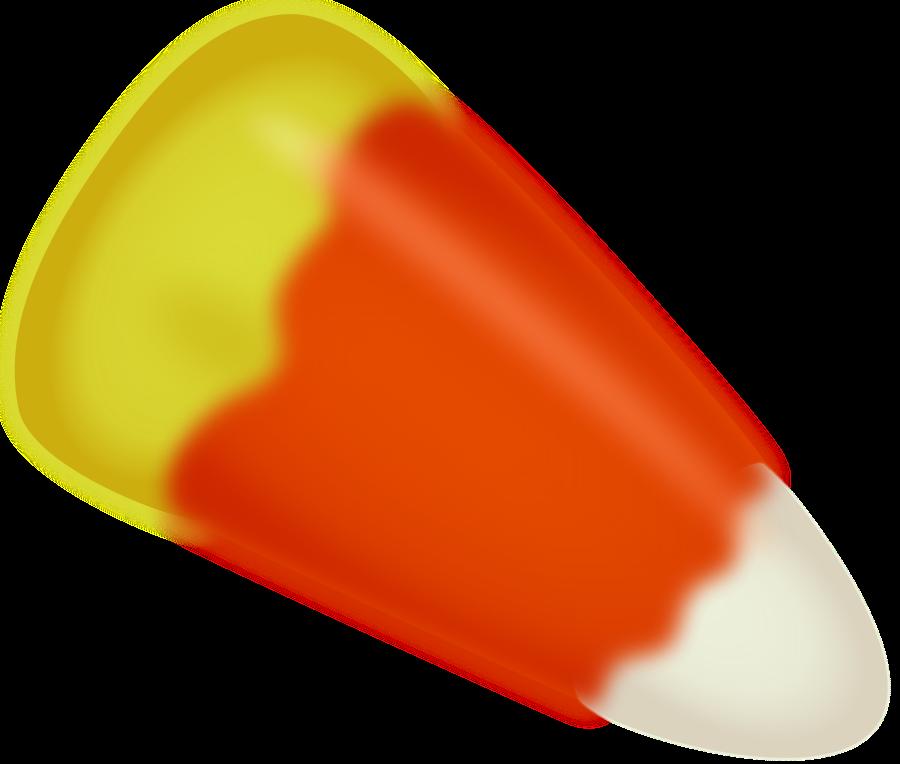 Halloween candy corn clipart vector clip art free