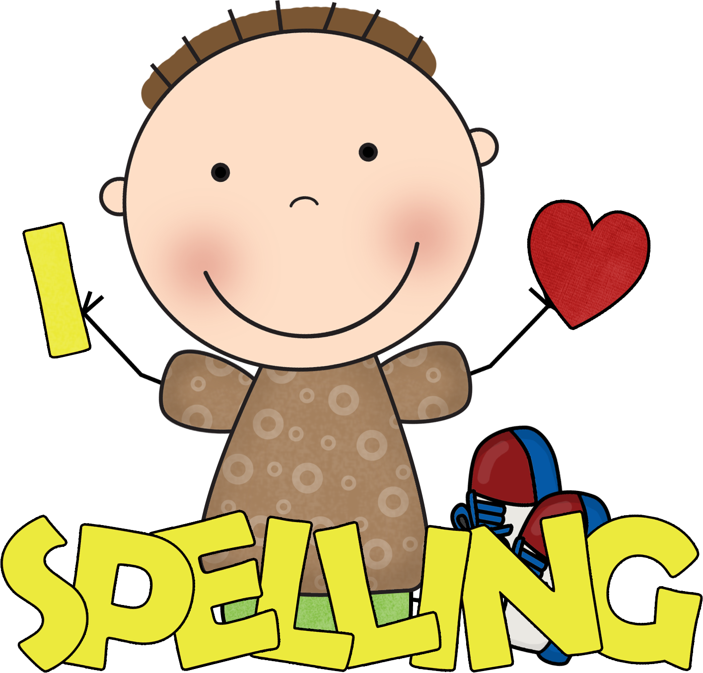 Handwriting boy writing clipart free images
