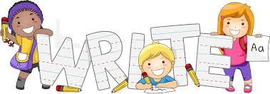 Handwriting elementary writing clipart