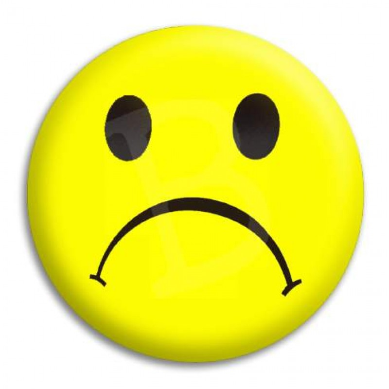 Happy and sad face clipart