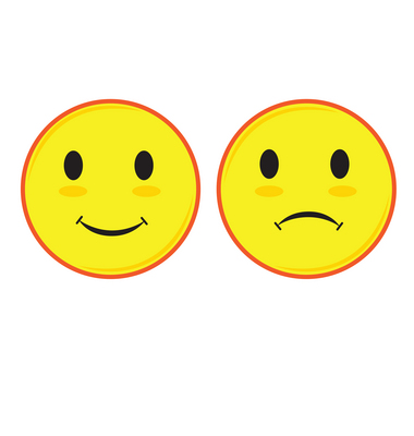 Happy and sad face free download clip art on