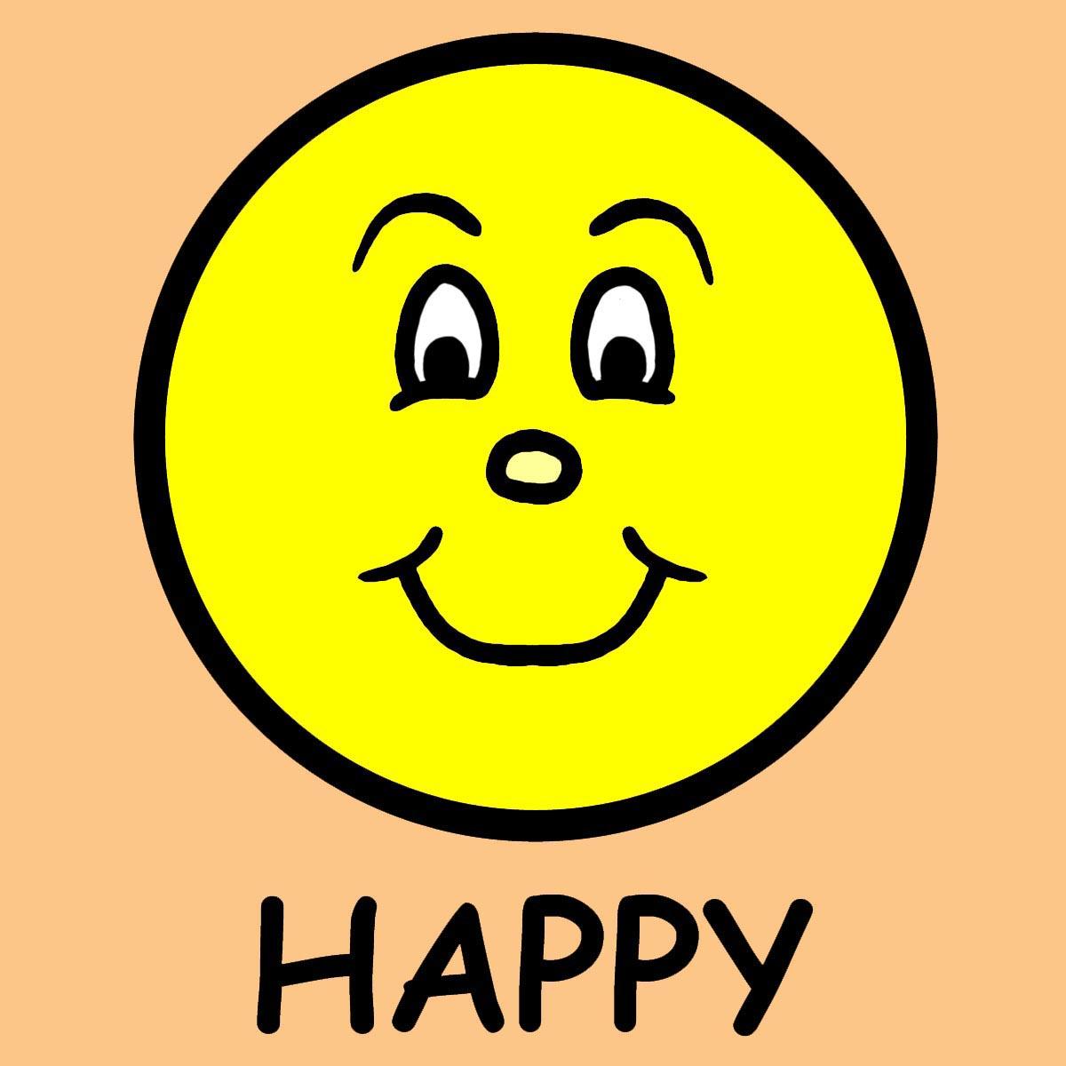 Happy And Sad Faces Clip Art Gclipart Com