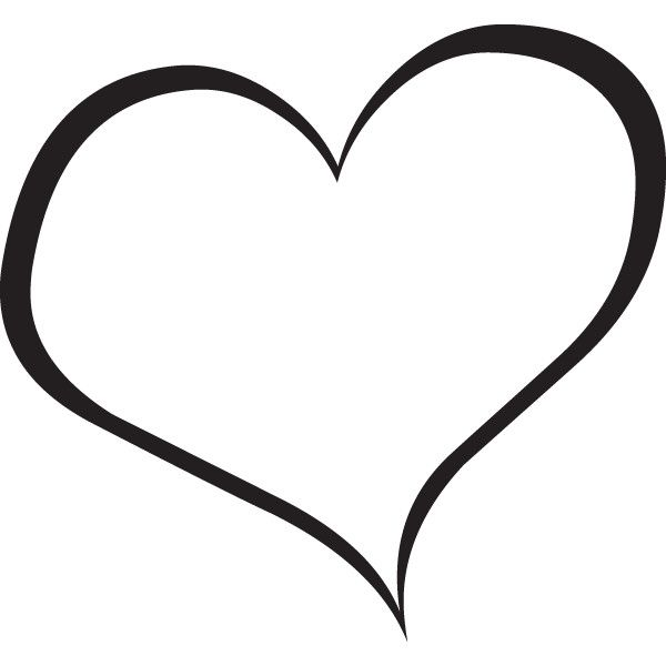 Heart  black and white clipart heart black and white free images 2