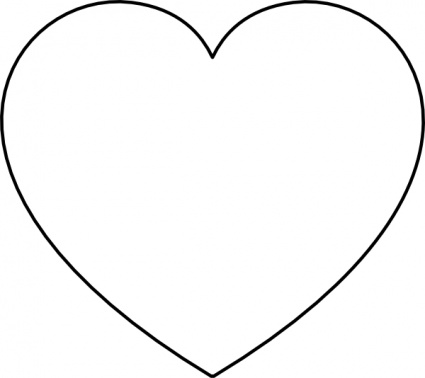 Heart  black and white clipart heart black and white free images 4