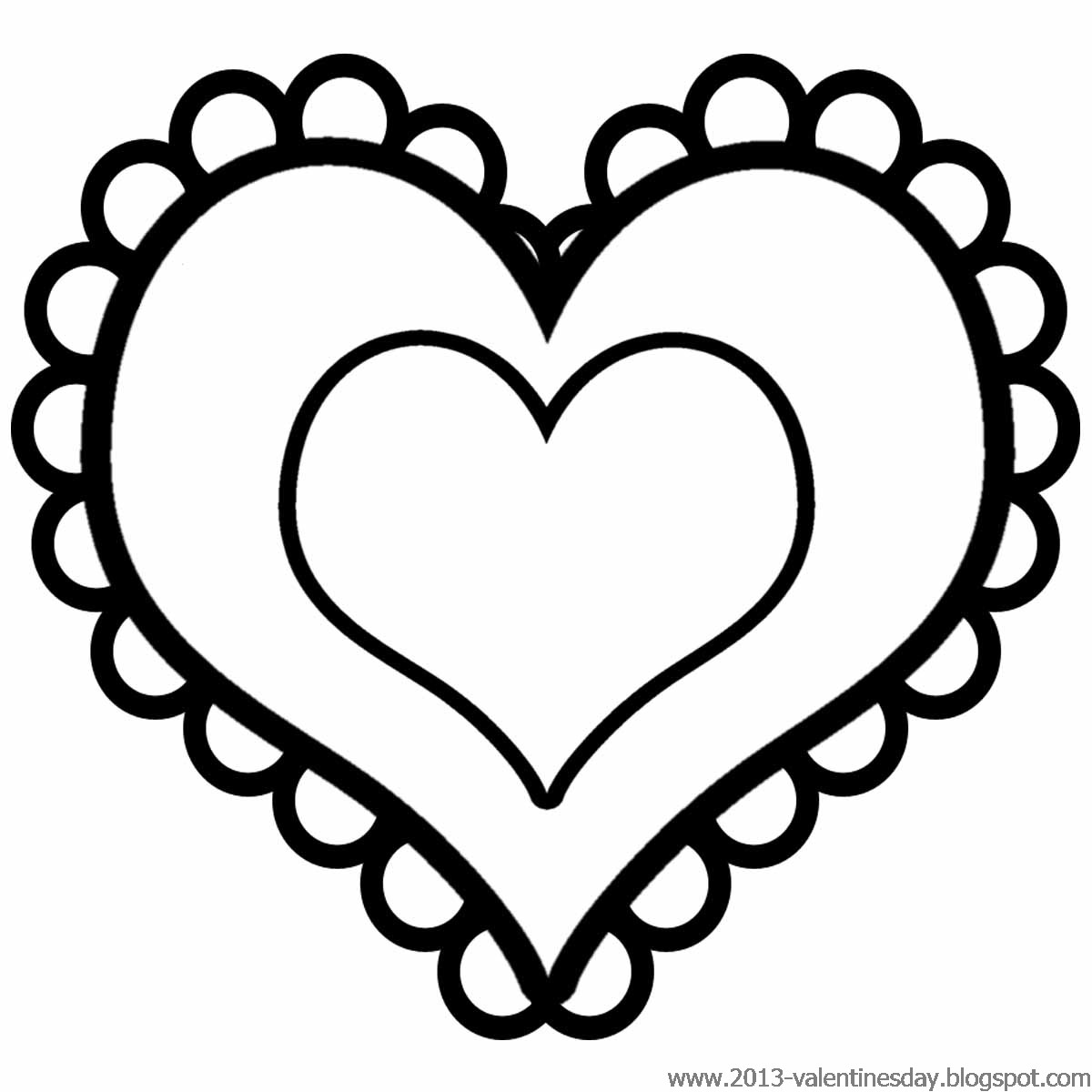 Heart  black and white heart black and white clipart