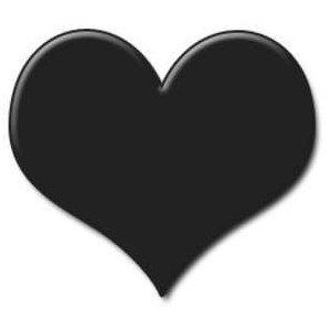 Heart  black and white heart black and white heart clipart hearts 4 2