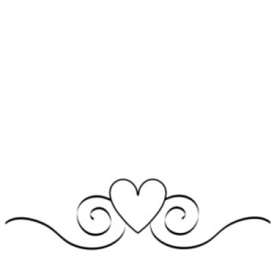 Heart  black and white wedding heart clipart black and white