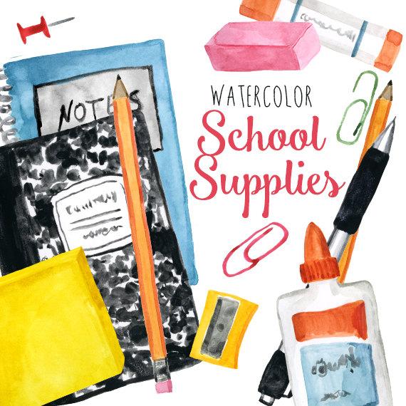High school supplies clipart clipartfox