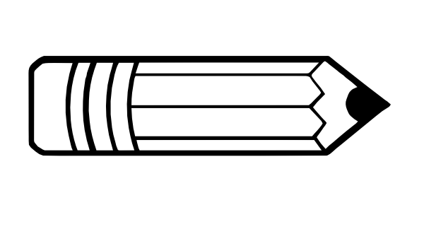 Horizontal pencil clipart free images