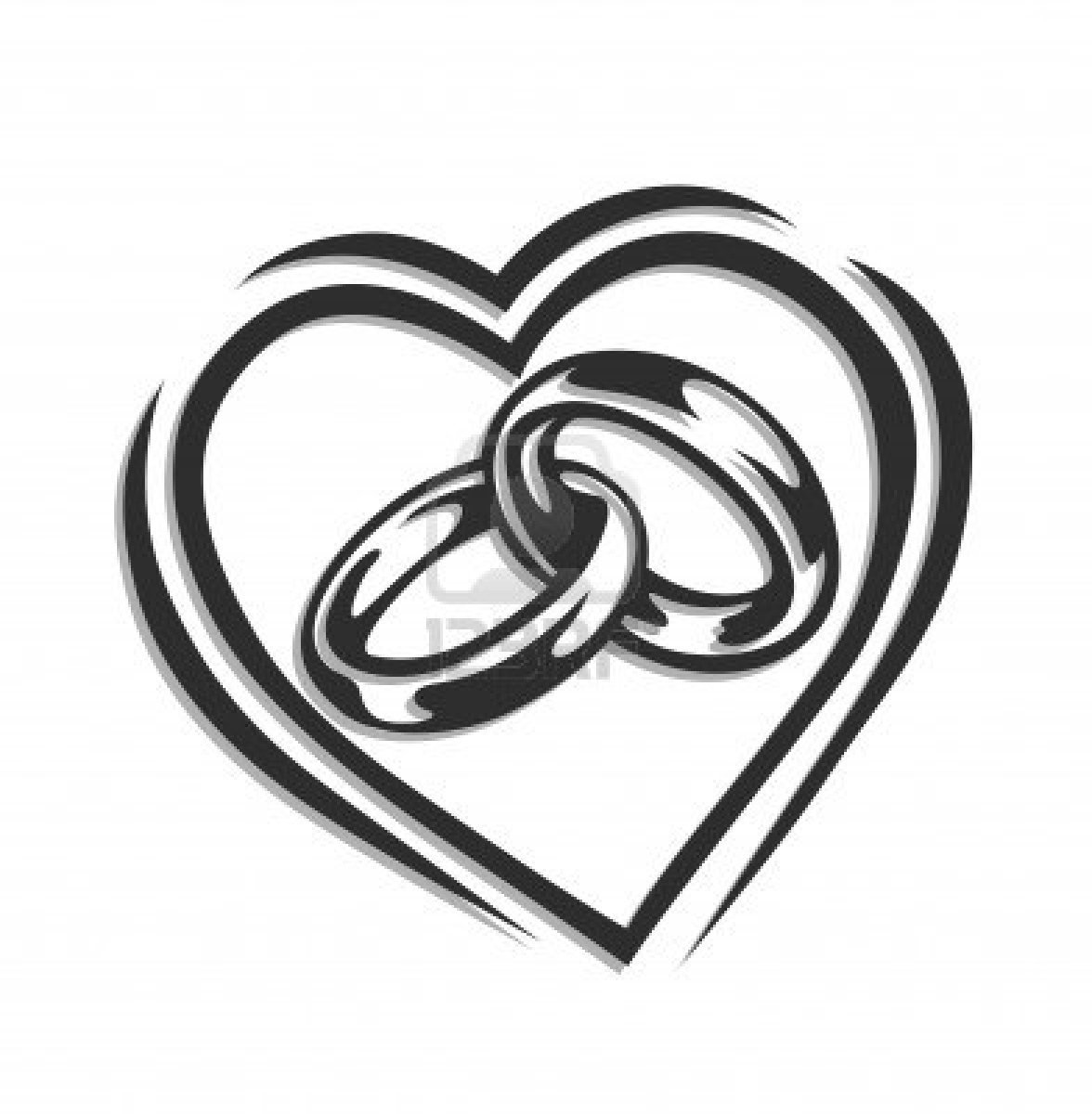 Interlocking wedding rings pin interlocking wedding rings clip clipart