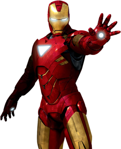 Iron man clipart 11